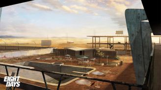 Concept Art for Cancelled PS3 Title Eight Days Unveiled - 2015-11-30 09:57:03