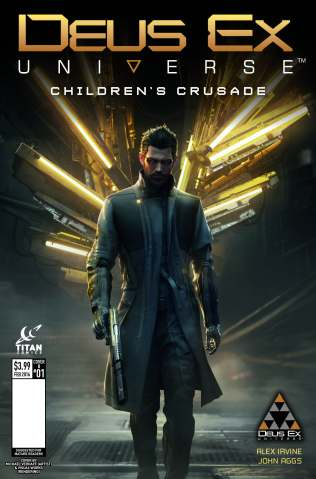 New Deus Ex Issue #1 Cover Variants Unveiled - 2015-12-01 11:59:37