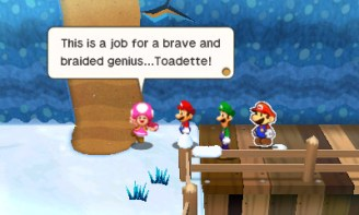 Mario and Luigi: Paper Jam (3DS) Review 2