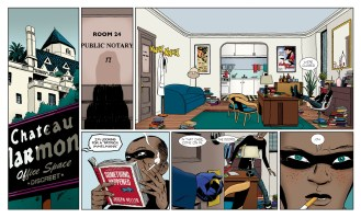 The Private Eye: The Cloudburst Edition (Comic) Review 2