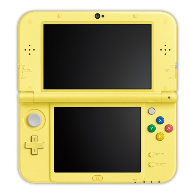 Pokemon-Themed New 3DS Announced In Japan 2