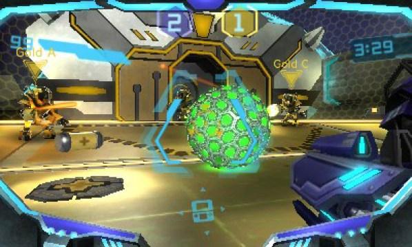 O divertido modo de jogo Blast Ball