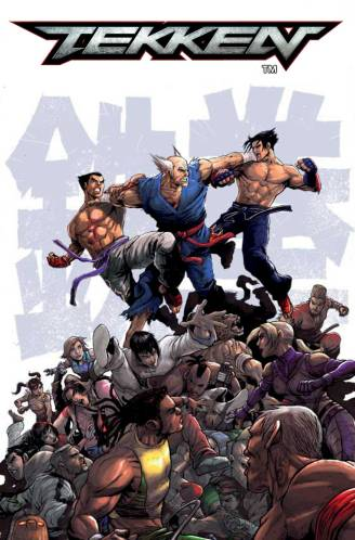 Tekken Issue #1 Receives an Extended Art Preview 7