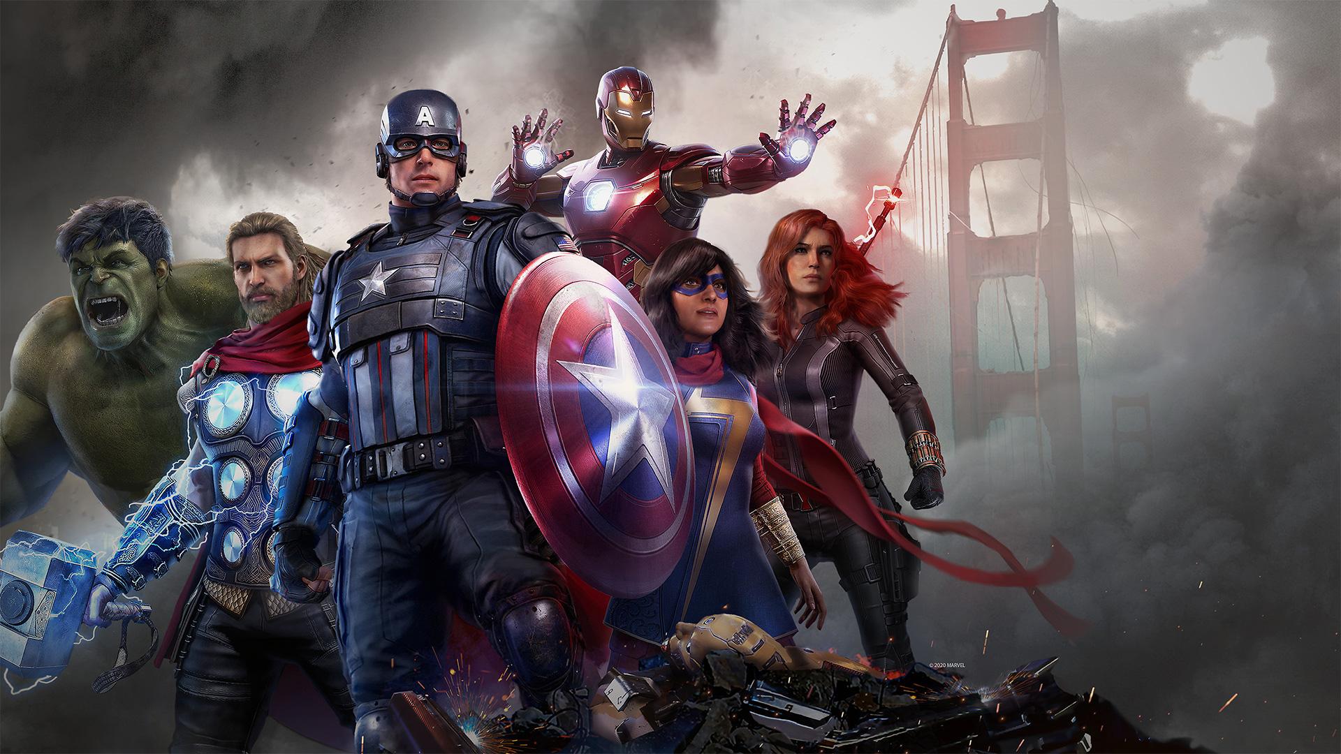 نتيجة بحث الصور عن marvel's avengers