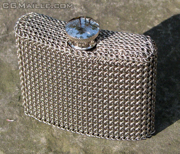 Unique chain maille jewelry designs blogs - you can create beautiful jewelry.