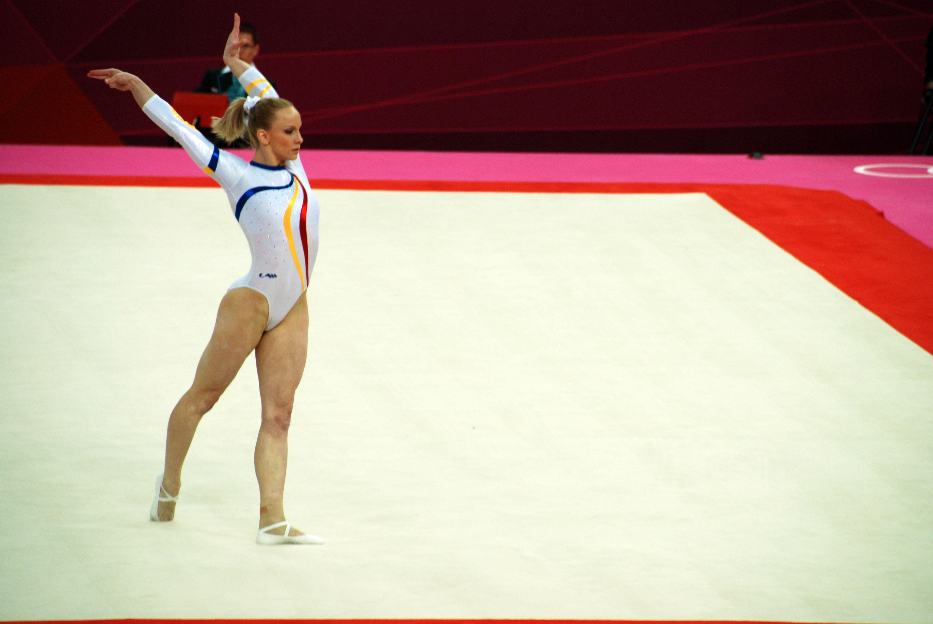 Elite Floor Routine at Olympics