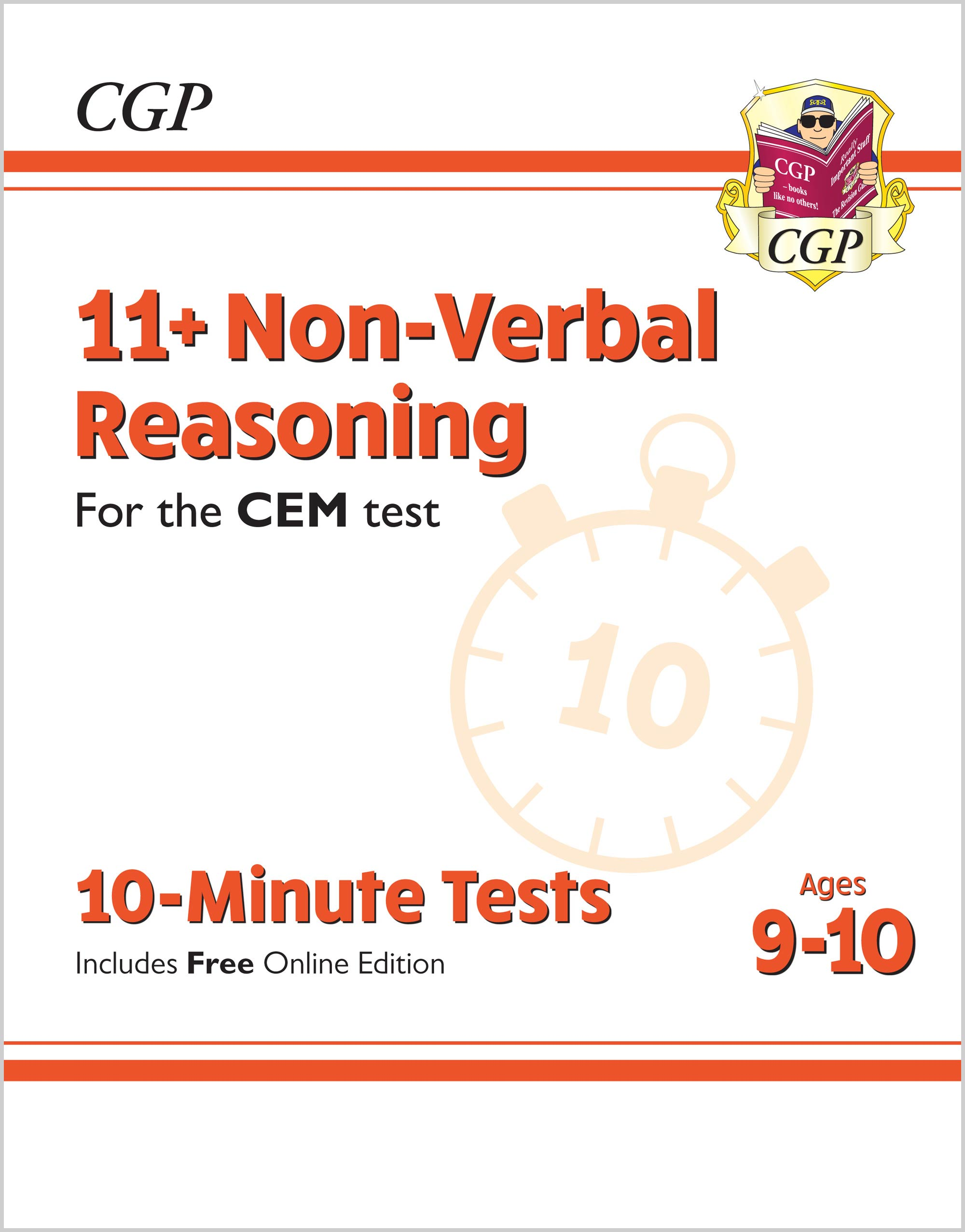 New 11 Cem 10 Minute Tests Non Verbal Reasoning