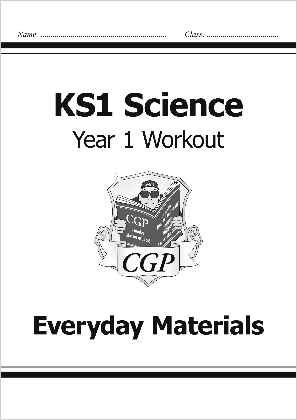 Ks1 Science Year 1 Workout Bundle