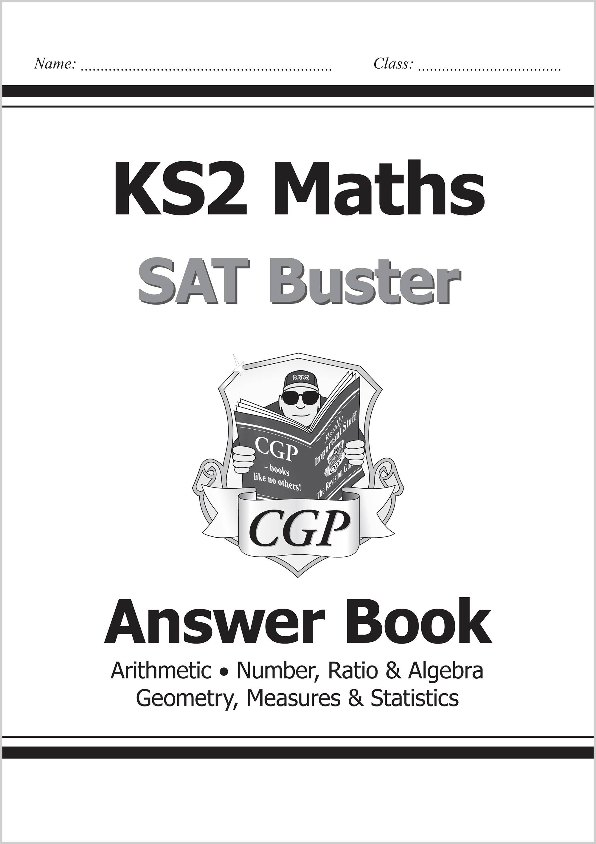 Ks2 Maths Sat Buster Number Ratio Amp Algebra Book 1 For