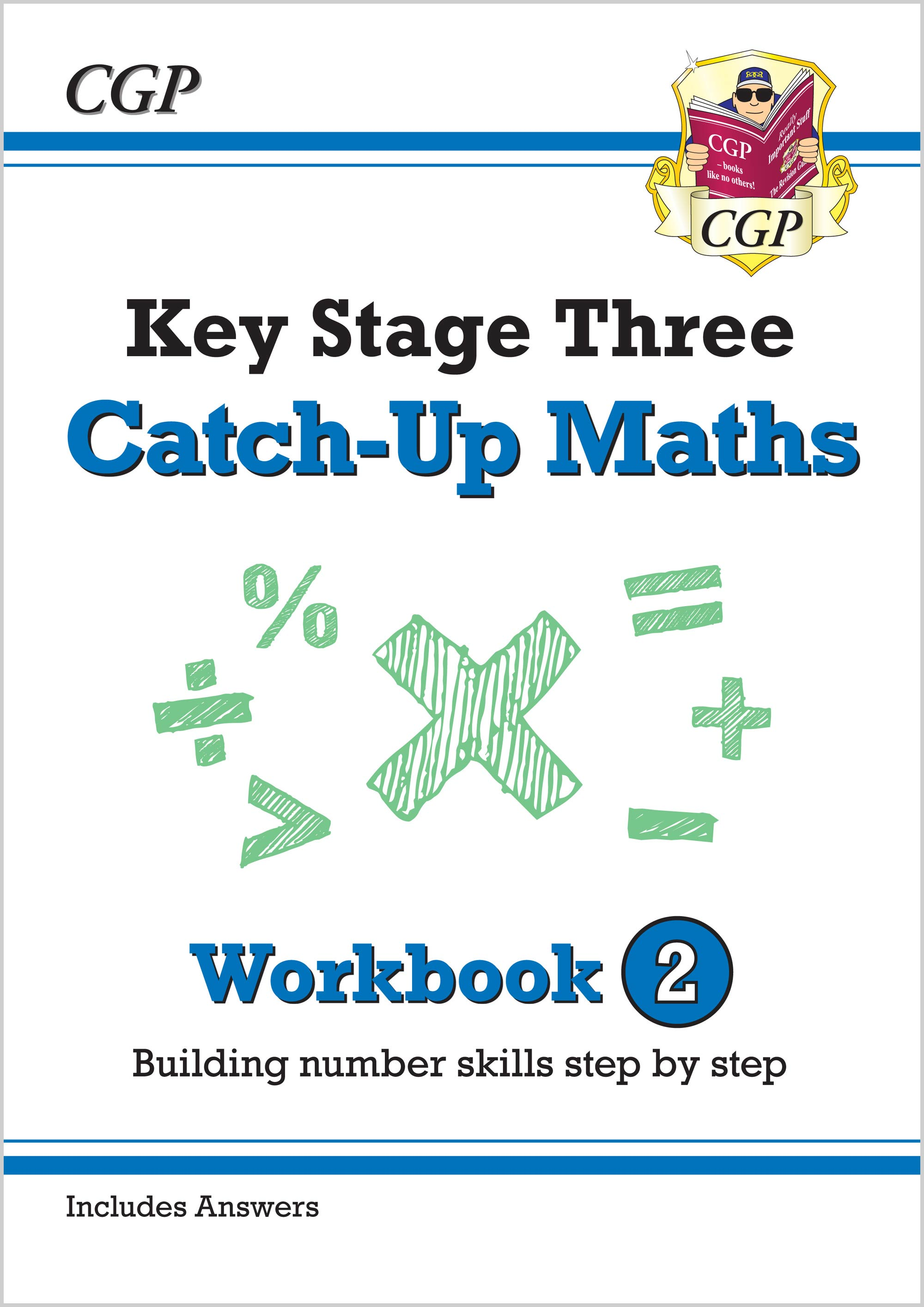 New Ks3 Maths Catch Up Workbook 1 With Answers