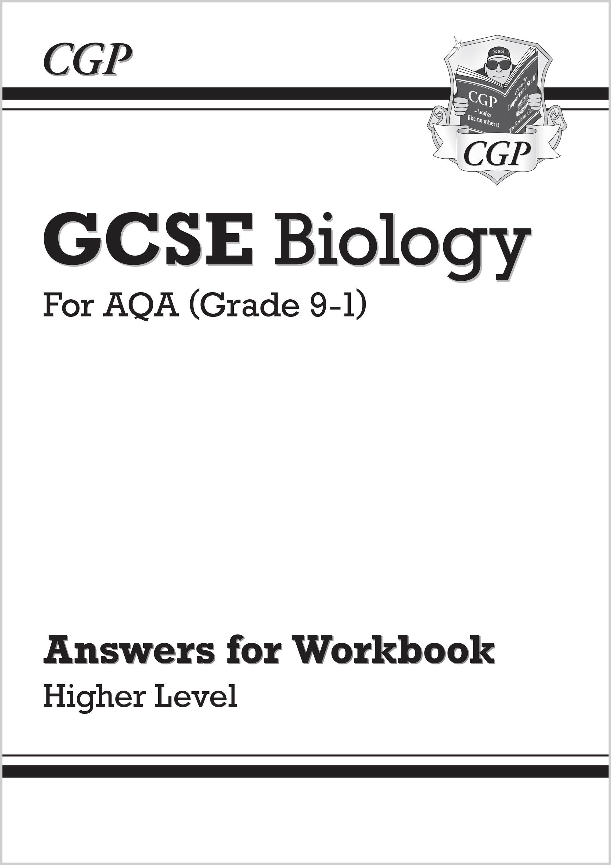 New Grade 9 1 Gcse Biology Aqa Exam Practice Workbook With Answers