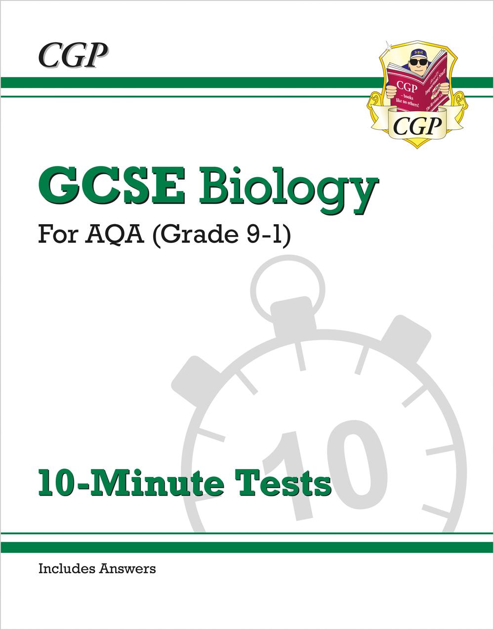 New Gcse Biology Aqa Answers For Exam Practice Workbook