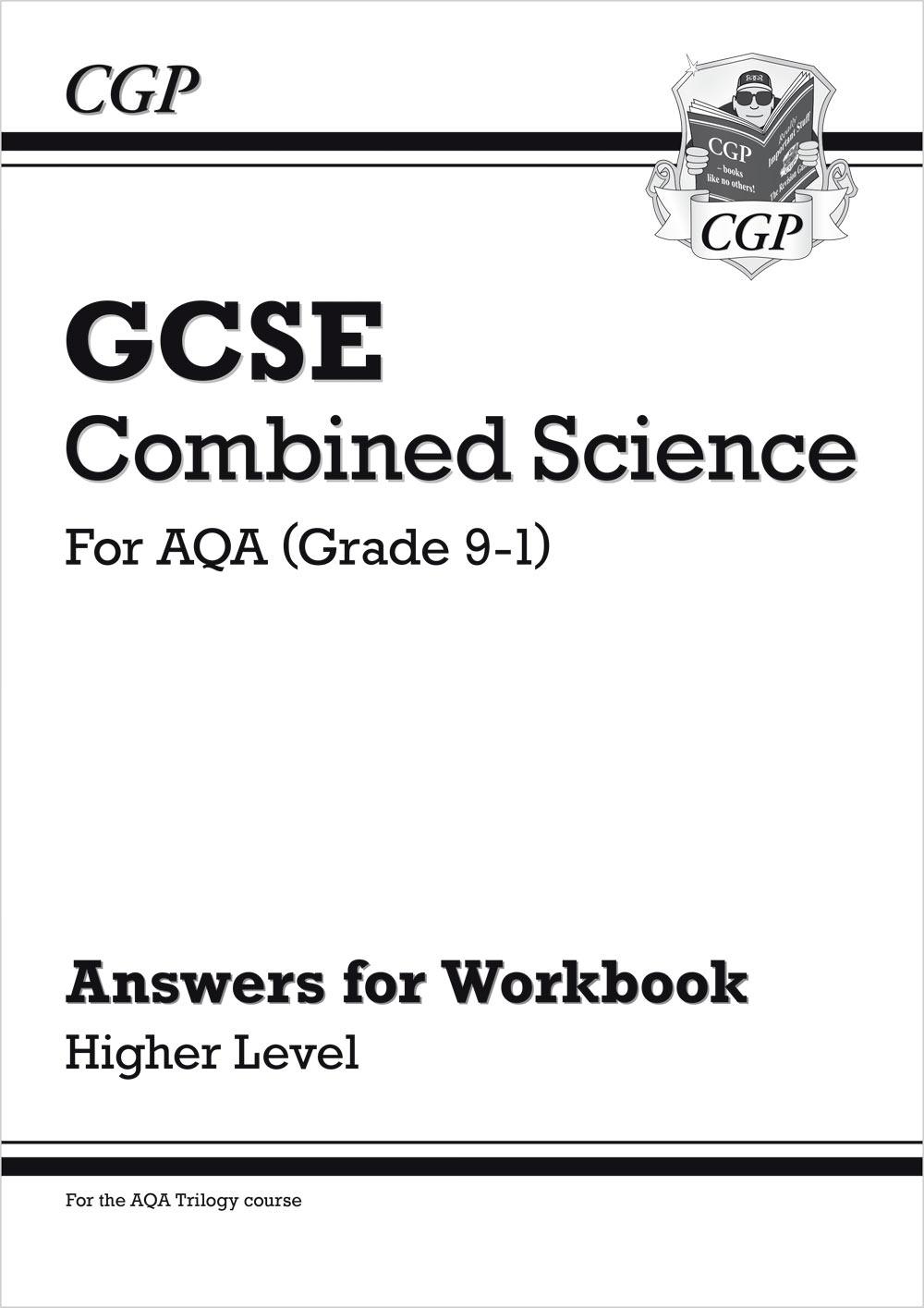 Grade 9 1 Gcse Combined Science Aqa Exam Practice Workbook
