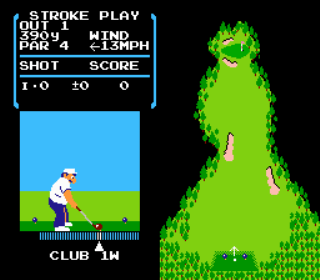 Developer: Nintendo Publisher: Nintendo Genre: Sports/Golf Released: 10/18/1985 Rating: 1.5