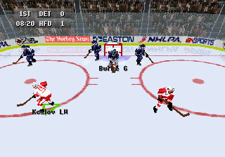 Developer: Visual Concepts Publisher: Electronic Arts Genre: Sports/Ice Hockey Released: October 31, 1996 Rating: 3.0