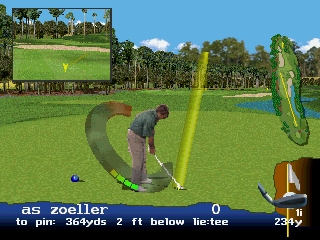 Developer: EA Sports Publisher: Electronic Arts Genre: Sports/Golf Released: 09/27/1996 Rating: 4.0