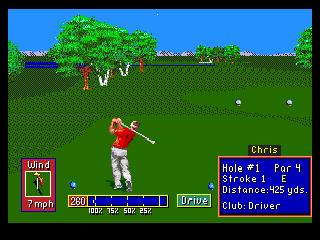 Developer: Polygames Publisher: Electronic Arts Genre: Sports/Golf Released: 1992 Rating: 4.5