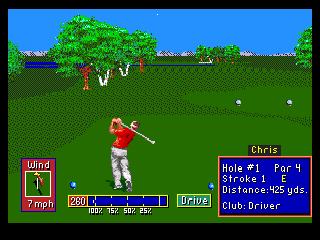 Developer: Polygames Publisher: Electronic Arts Genre: Sports/Golf Released: 1992 Rating: 4.5