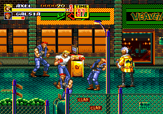 Developer: Sega AM-7 Publisher: Sega Genre: Beat 'Em Up Released: 12/20/1992 Rating: 5.0