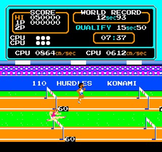 Developer: Konami Publisher: Konami Genre: Sports Released: April 1987 Rating: 4.0