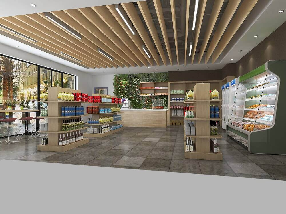 Virtual Grocery Store Game