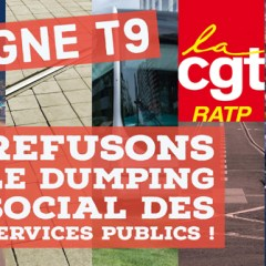 T9, REFUSONS LE DUMPING SOCIAL DES SERVICES PUBLICS !