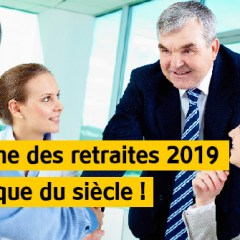 2019, La retraite  par points de Macron