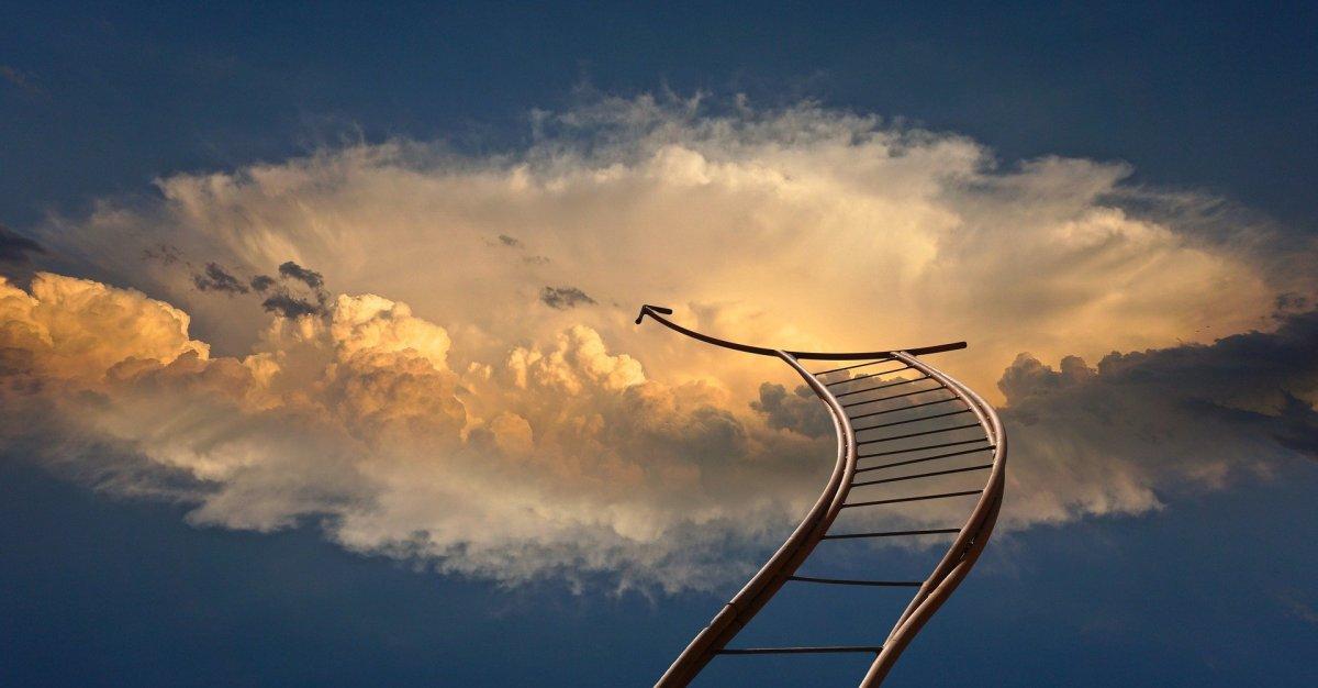 escalier vers le ciel