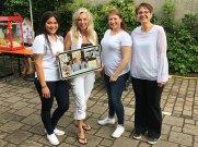 Die Kosmetikerinnen von CH cosmetics (v.l.n.r.): Frau Manthey, Frau Hornig, Frau Flier und Frau Schmitt