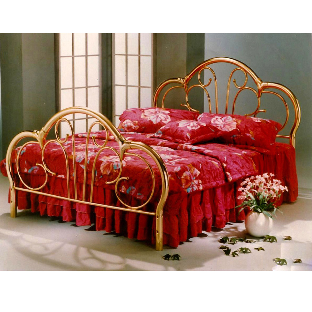 stainless steel bed frame single iron