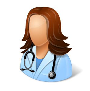 icone docteur femme