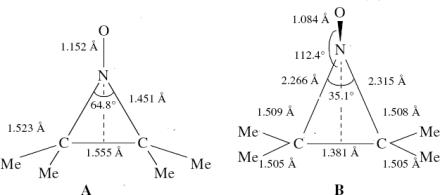 tetramethyletylene-NO+