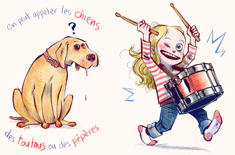 on peut appeler les chiens