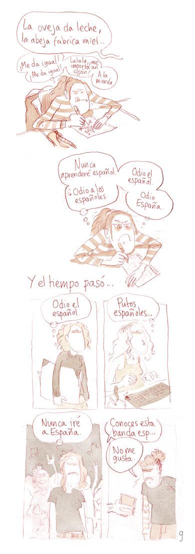 Fanzine Odio a los Espanoles