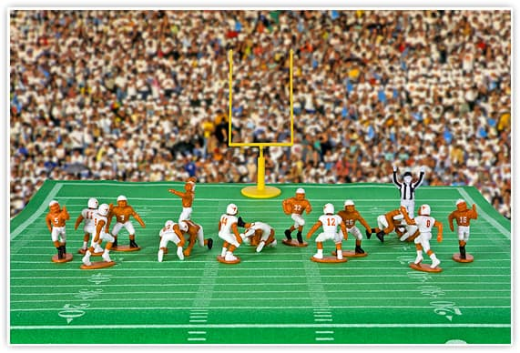 University of Texas Longhorns football action figures set - Sports Action Figures