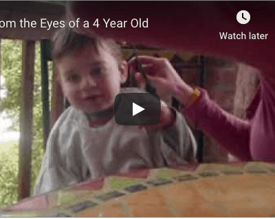 From the Eyes of a 4 Year-Old (video)