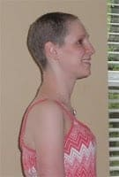 hair regrowth 4 months after chemo