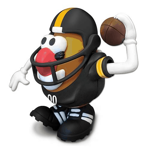 Steelers Mr. Potato Head - Games for Steelers Fans