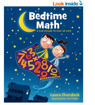 Bedtime Math Book for Kids to Help Make Math Fun – Review