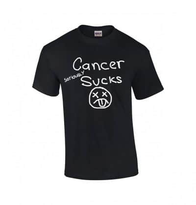CANCER SERIOUSLY SUCKS T-SHIRT