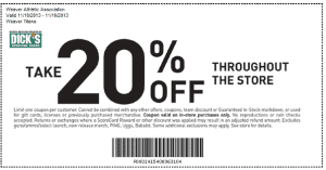 Appreciation Shopping Day 20% off Coupon