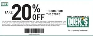 20% off the entire store no expiration