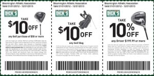 Golf Coupons