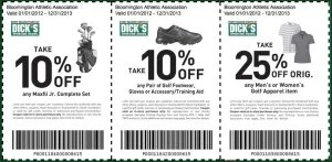 Golf Coupons Dicks