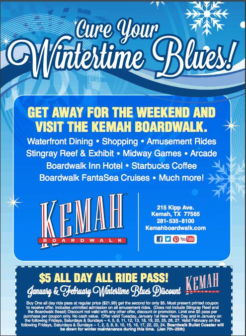 keemah boardwalk printable coupon - Kemah Boardwalk Coupons and Deals - Houston Area Fun for Families 2018