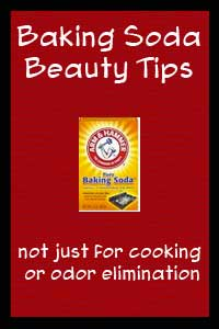 Arm & Hammer Baking Soda – Beauty Tips
