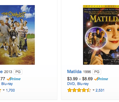 Movies for Kids and Adults Under $5 Including Free Shipping