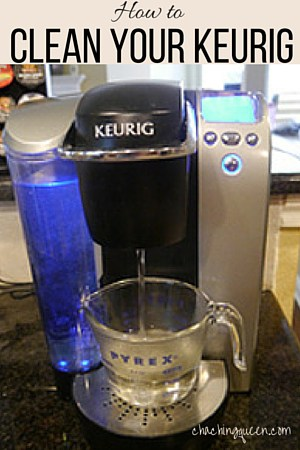 How to Clean Your Keurig- Pinterest pin