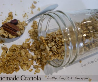 The Easiest Homemade Granola Recipe