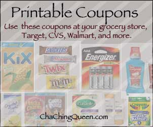 New Month = New Printable Coupons – October 2019